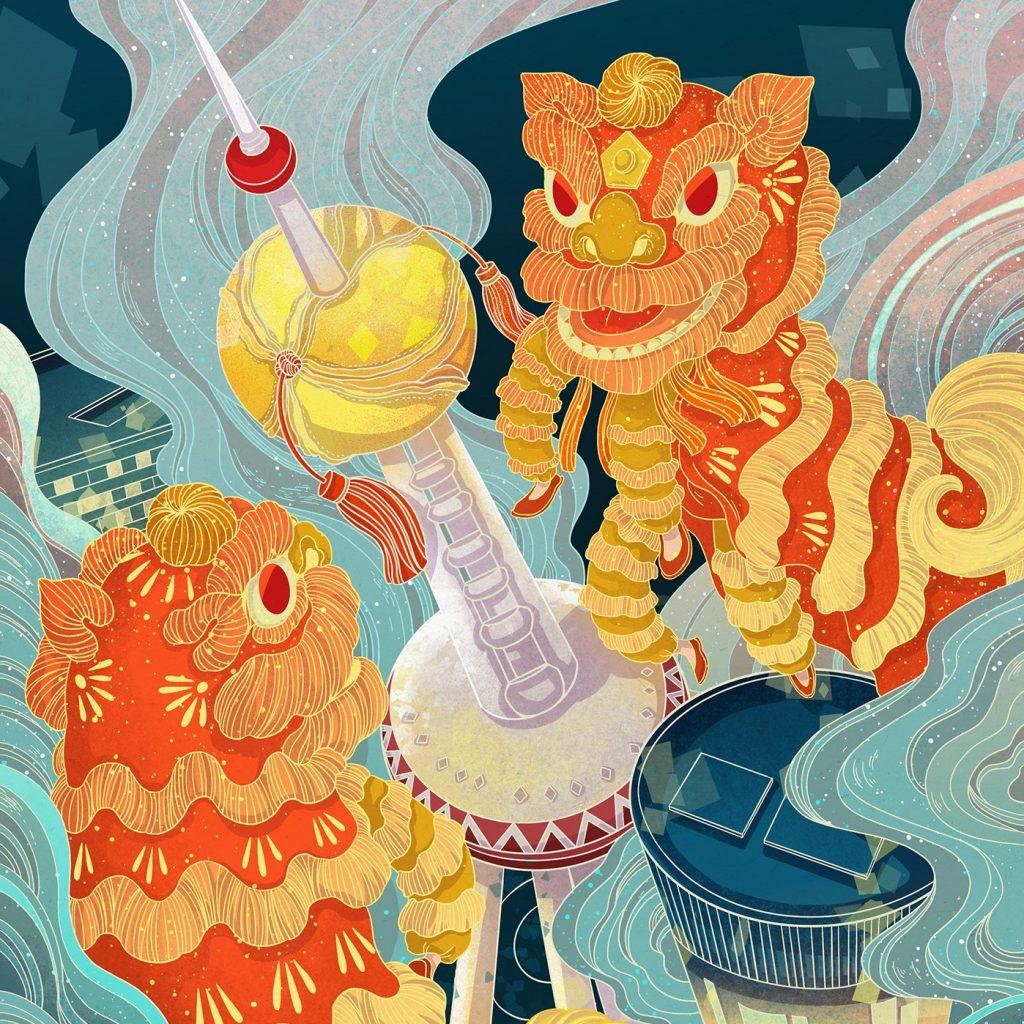插画家Shirley Gong